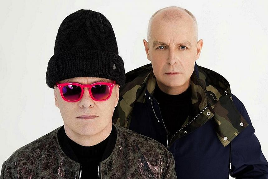 Pet Shop Boys' Chris Lowe (left) and Neil Tennant have sold 50 million records and won three Brit Awards.