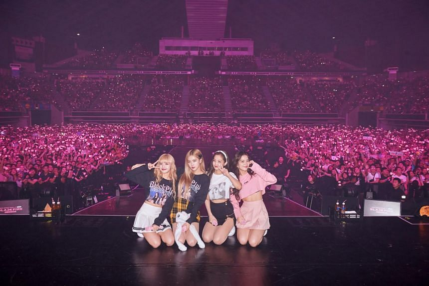 Blackpink will start a North American tour on April 17, with eight concerts in six cities.