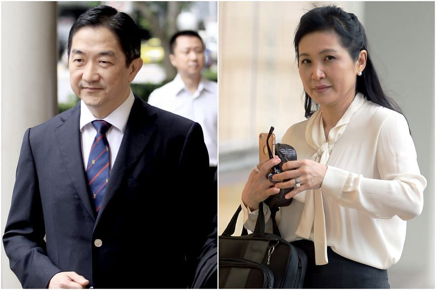 John Soh (left) and Quah Su-Ling allegedly exploited family, friends and business associates to manipulate the share prices of Blumont Group, Asiasons Capital (now Attilan Group) and LionGold Group.