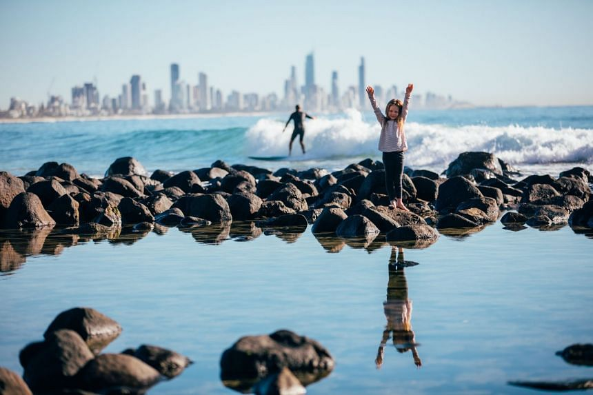 A family vacation to Gold Coast is more than just for the little ones. PHOTO: TOURISM AND EVENTS QUEENSLAND