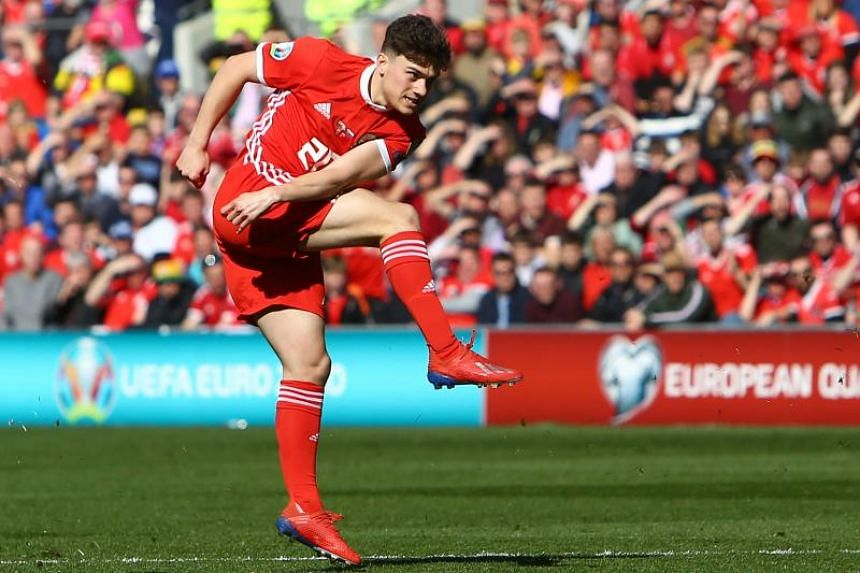 Wales' Daniel James scored in the fifth minute in their 1-0 victory over Slovakia in Cardiff.