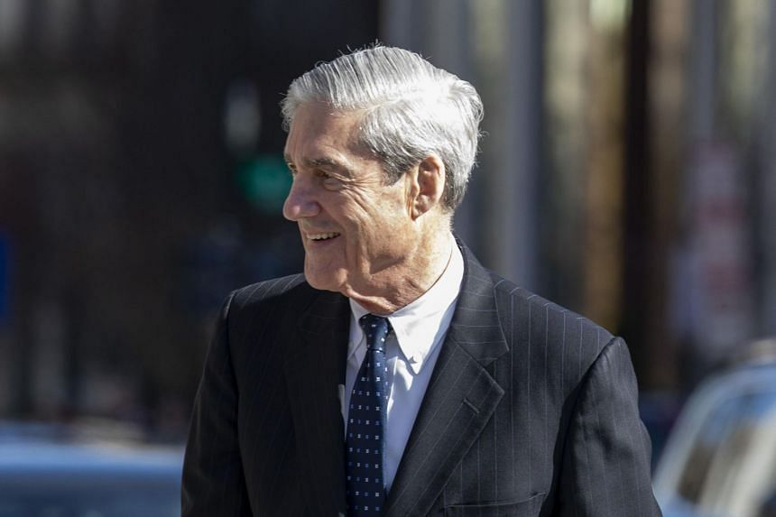 Special Counsel Robert Mueller walks after attending church in Washington, DC on March 24, 2019.