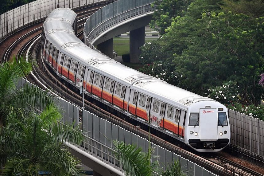 SMRT advised commuters to check the departure times at affected MRT stations, or on SMRT Trains' website and social media platforms, to plan their journeys ahead of time.