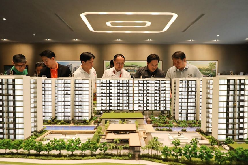 Singapore's largest condominium Treasure at Tampines, situated on the former Tampines Court site, has 2,203 units in all.