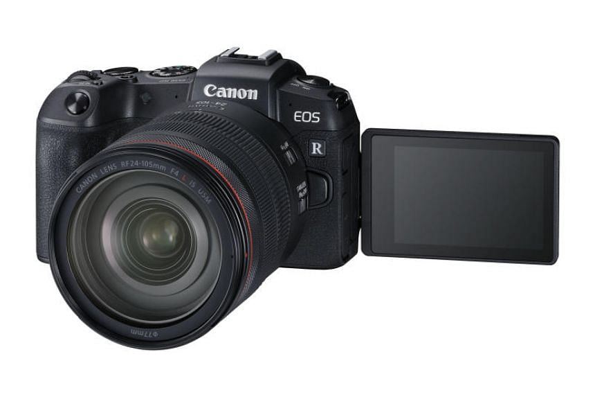 The Canon EOS RP is an entry-level model but no slouch.