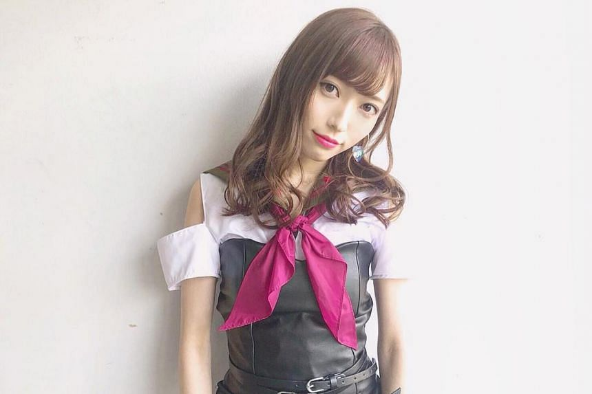 """Not long after the attack, Maho Yamaguchi, a singer with Japanese girl group NGT48, said sorry on stage for causing """"trouble""""."""