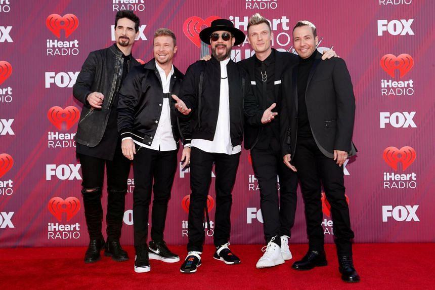 Public sales for Backstreet Boys' October performance start on April 1.