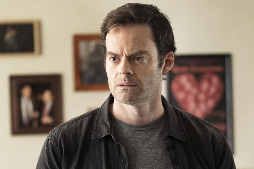 Bill Hader as Barry, in the series he created in 2018.