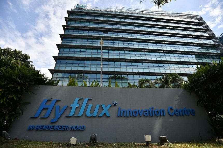 The Hyflux Innovation Centre at 80 Bendemeer Road on Feb 16, 2019.