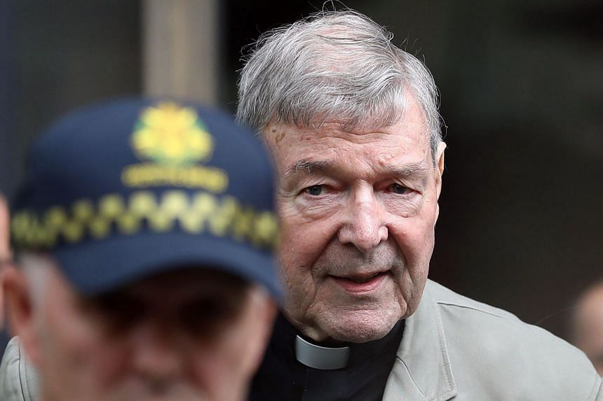 Cardinal George Pell leaves the County Court of Victoria on Feb 26, 2019. A series of suppression orders had prevented reporting details of the case against Pell since May, 2018.