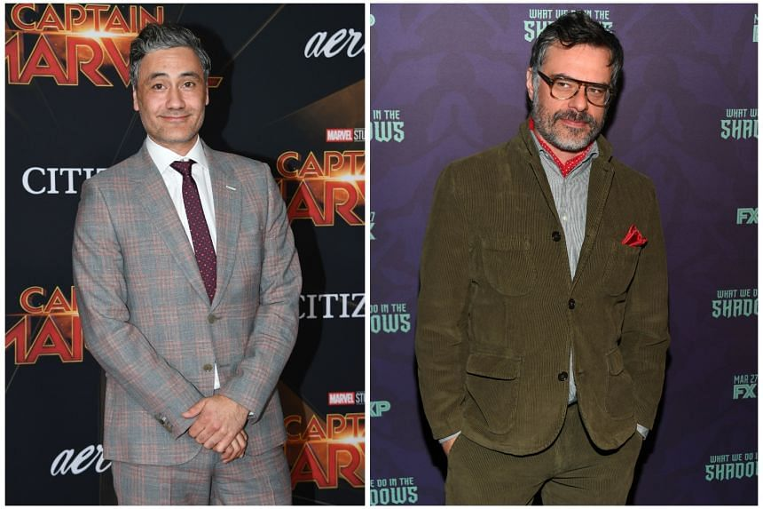 Taika Waititi (left) and Jemaine Clement (right).