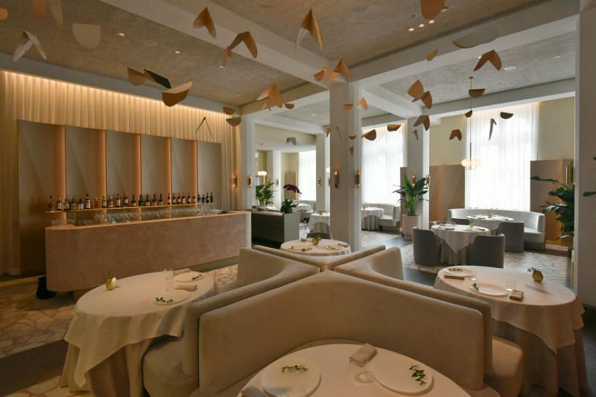 Helmed by chef Julien Royer, Odette (above) beat out second place Gaggan - the former No. 1 restaurant - as well as fourth placed Suhring - which are both in Bangkok, Thailand.