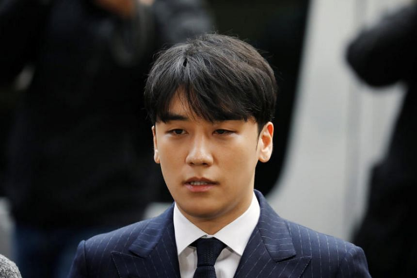 Arena club was mentioned by Singapore socialite Kim Lim in refuting talk that former BigBang singer Seungri (above) had arranged for women to party with her there in 2015.