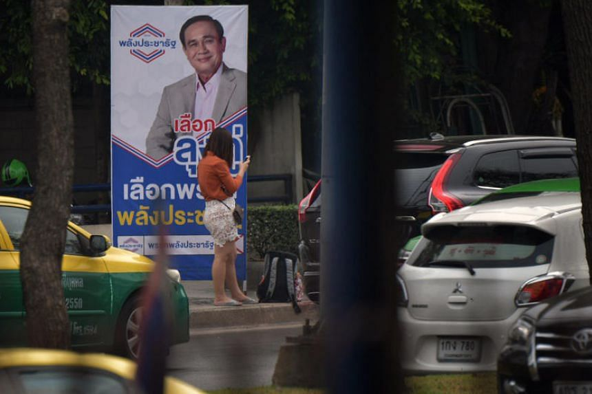 Thailand's first election since a 2014 military coup was thrown into disarray with accusations of cheating and both a pro-army party and the opposition claiming to form a government.