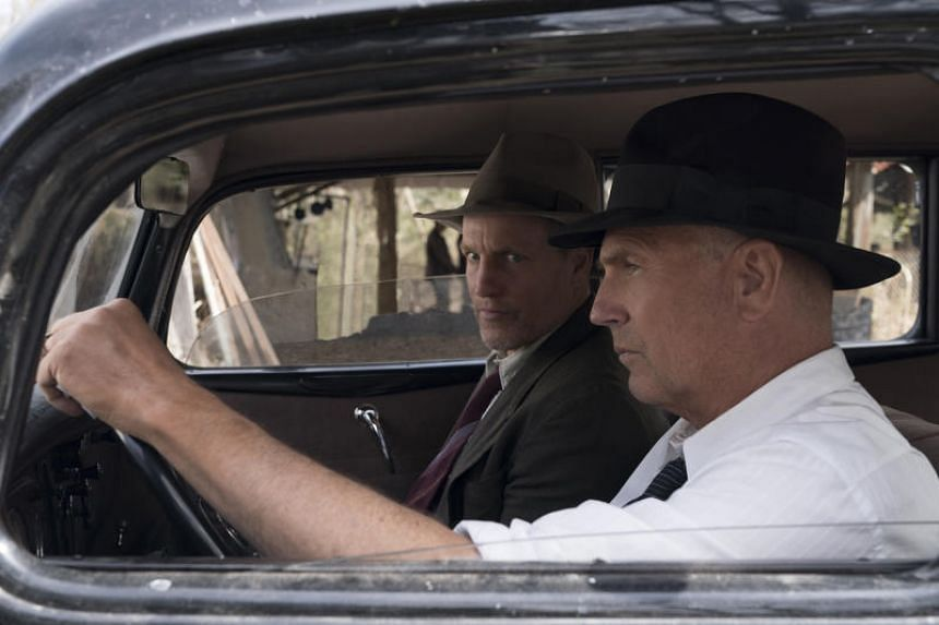 Woody Harrelson (left) and Kevin Costner play the lawmen who hunted down outlaws Bonnie Parker and Clyde Barrow in The Highwaymen.