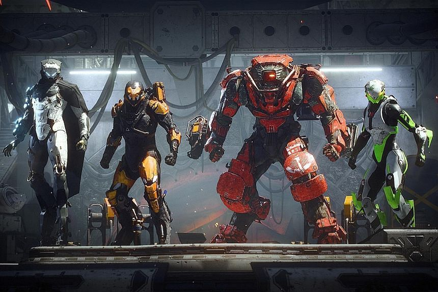 Anthem Fails To Marry Single And Multiplayer Gameplay Tech News