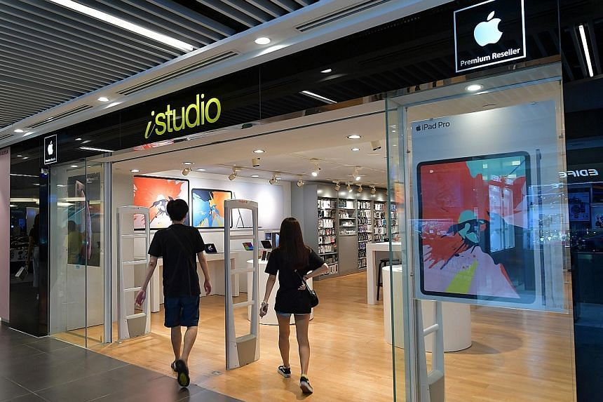 After Apple opened its first store here in 2017, Epicentre left the local market last June and sold its four stores to Elush, which runs its own iStudio stores. Since then, Elush has closed two of the four Epicentre shops.