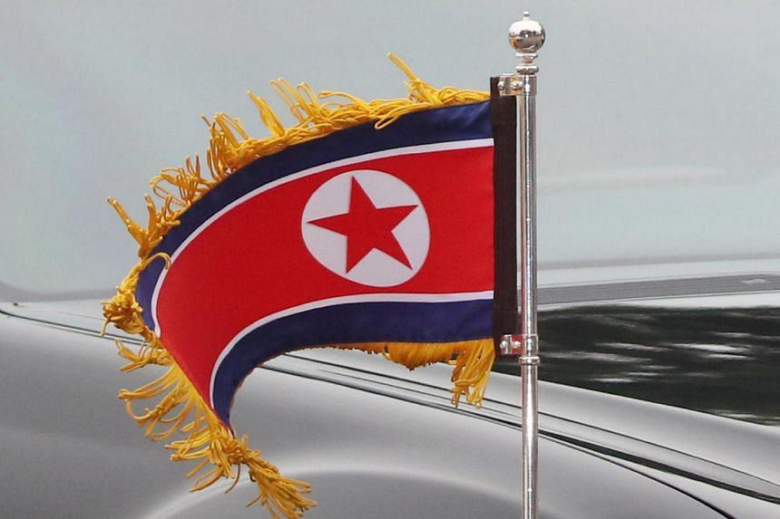 The group, Free Joseon, calls for the overthrow of North Korea's leader Kim Jong Un.