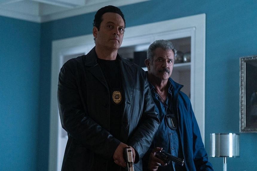 Vince Vaughn (left) and Mel Gibson in Dragged Across Concrete.