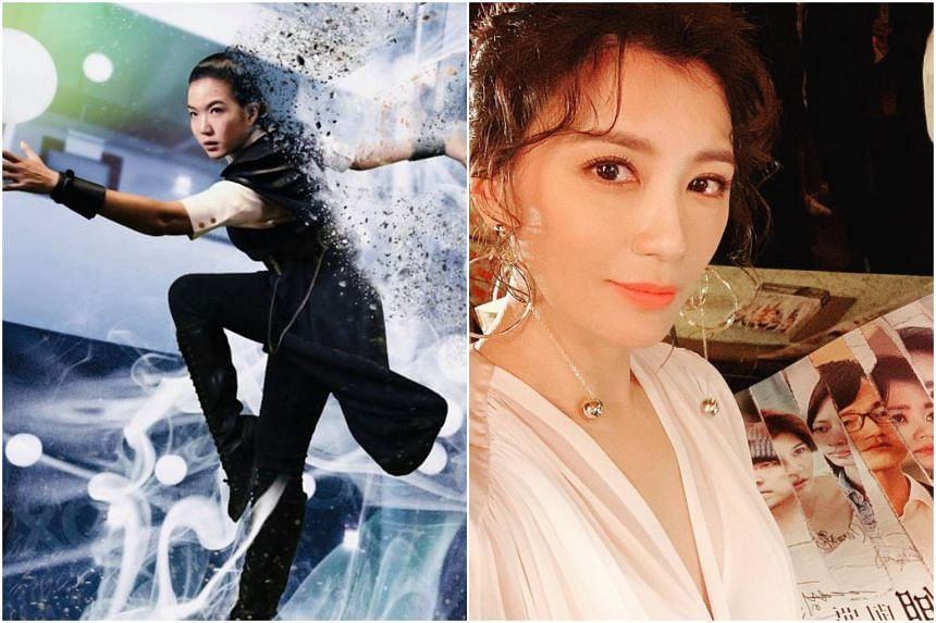 Singapore's Rui En (left) and Taiwan's Alyssa Chia made their return to television dramas with fantasy comedy Hello From The Other Side and drama thriller The World Between Us respectively.