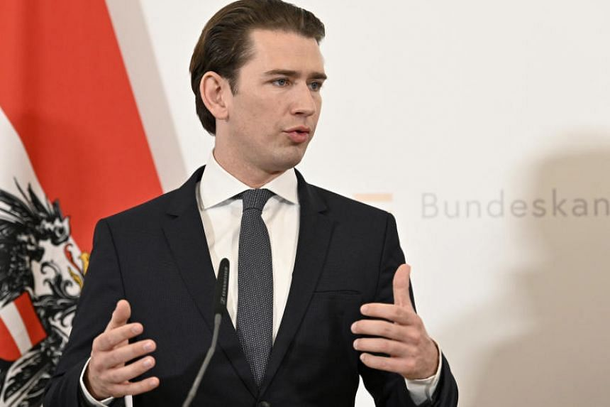 Chancellor Sebastian Kurz said Austria was looking into dissolving the far-right Identitarian Movement, which says it wants to preserve Europe's identity.