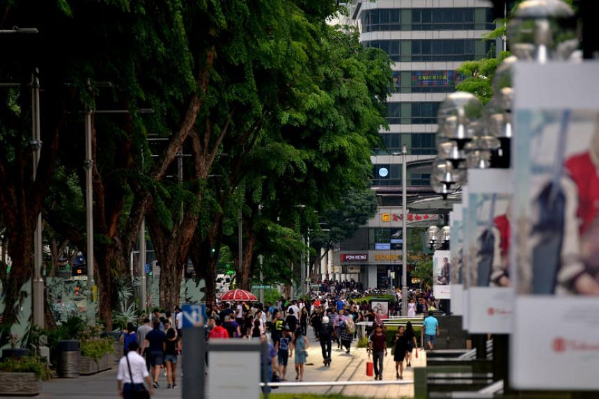 The 2.4km Orchard Road may see a car-free portion to connect green spaces, as well as new retail concepts, attractions, entertainment options and events.