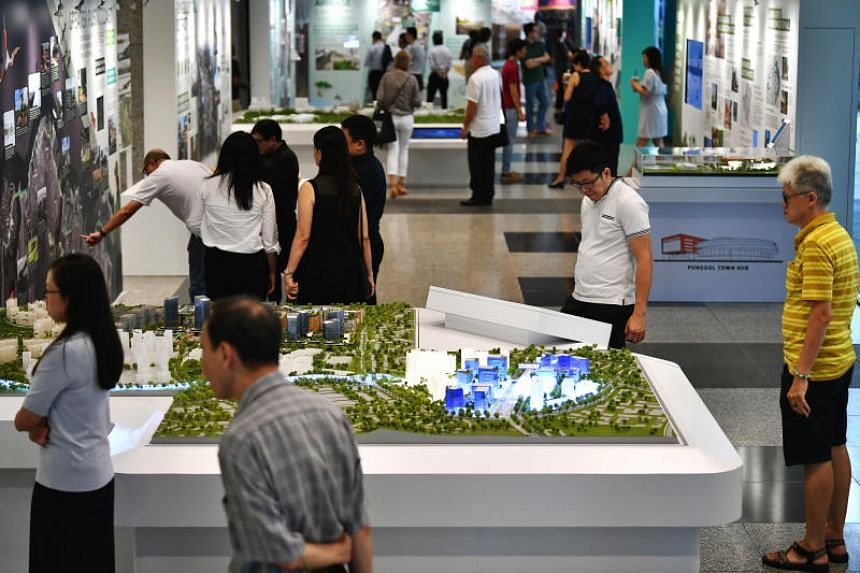 Three-dimensional subterranean maps of Marina Bay, Jurong Innovation District and Punggol Digital District were rolled out at the launch of the Draft Master Plan on March 27, 2019, at URA Centre in Maxwell Road.