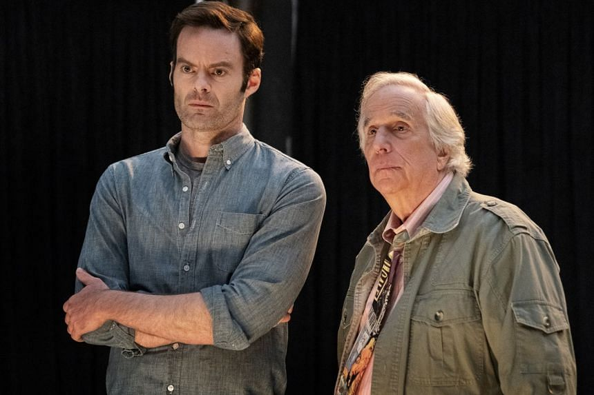 Bill Hader (left) and Henry Winkler (right) return in a second season of Barry.