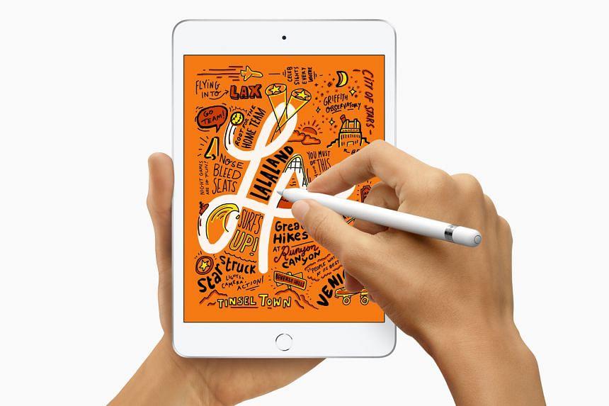 Apple iPad mini (2019).