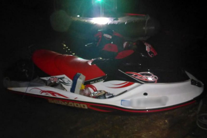 The man used a jet ski, carrying additional fuel and supplies, to cross the 150km Torres Strait to Papua New Guinea. Australian authorities were tipped off and gave chase, eventually apprehending him less than 10km from the PNG coast.