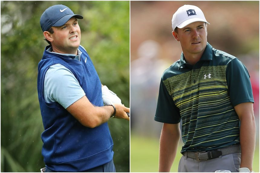 Patrick Reed (left) and Jordan Spieth are desperately seeking to break out of slumps as they prepare for the year's first Major championship in a fortnight.