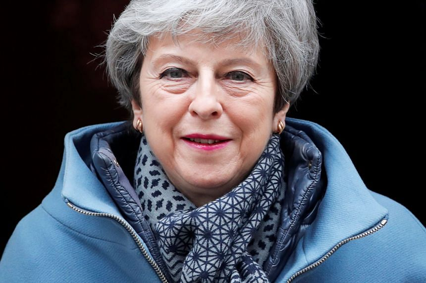 British PM Theresa May (above) has said she will quit to get her Brexit deal passed.