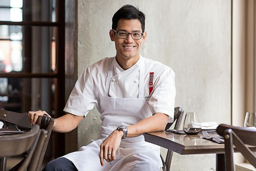Singaporean executive chef Nicholas Tang.
