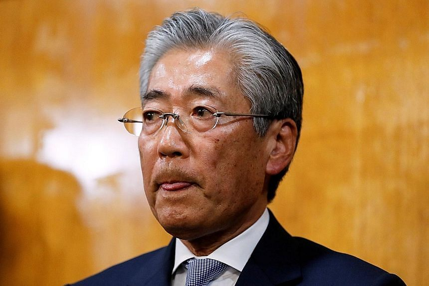 Japanese Olympic Committee chief Tsunekazu Takeda resigned from the IOC on Tuesday.