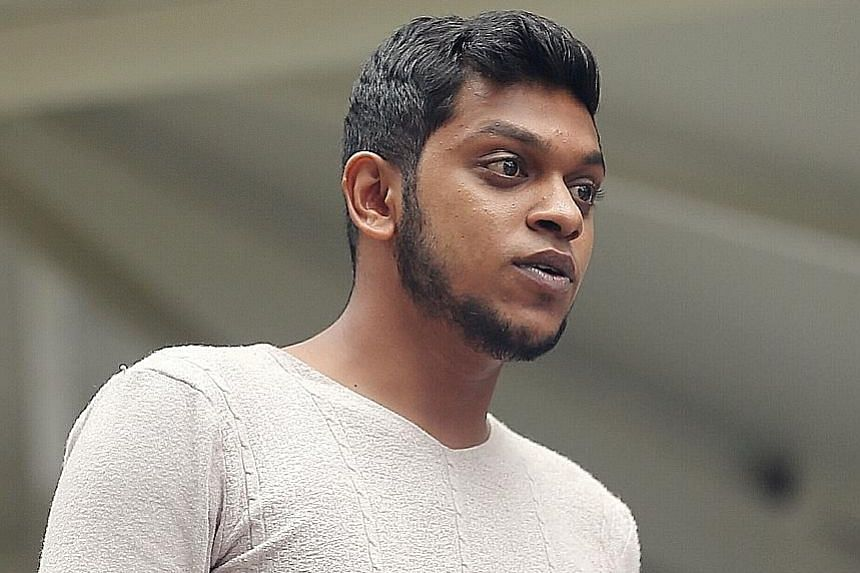 Mohamed Mustaffa Ali was yesterday jailed for 10 weeks after pleading guilty to two counts of assault.