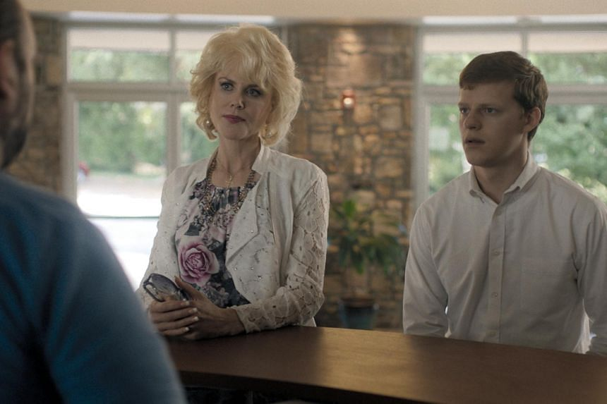 Nicole Kidman and Lucas Hedges star in Boy Erased.