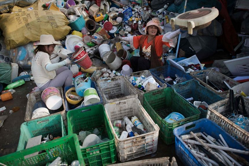 China was once the recipient of millions of tonnes of foreign paper, plastic and scrap metal, but it started restricting deliveries last year.