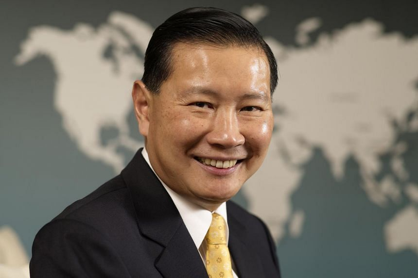 Mr Lee Fook Sun, chairman of the Building and Construction Authority.