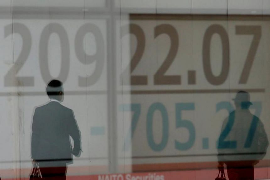 Japan's Nikkei fell 1.6 per cent, while E-Mini futures for the S&P 500 lost 0.4 per cent.