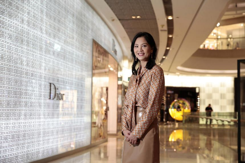 Ion Orchard was also the first mall in Singapore to introduce the eye-catching duplex store concept, according to chief executive officer of Orchard Turn Developments, Ms Yeo Mui Hong.