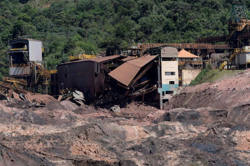 A tailings dam at Vale's Corrego do Feijao mine in Minas Gerais ruptured on Jan 25, 2019, unleashing a torrent of sludge that killed hundreds.