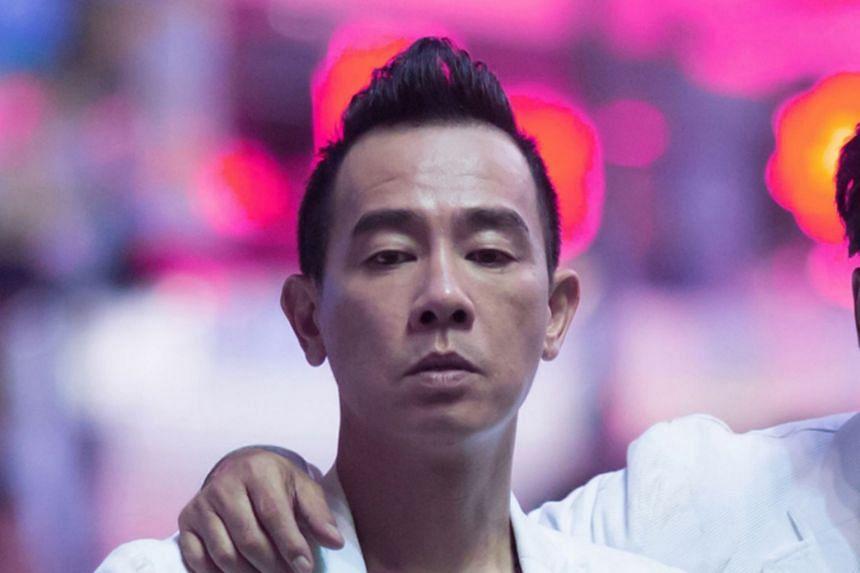 Hong Kong pop star Jordan Chan's concert will be held at Resorts World Sentosa.