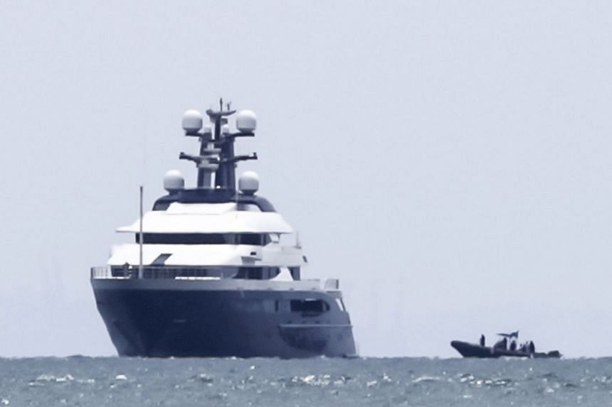 The Equanimity yacht failed to sell at auction last year and is now docked at the northern island of Langkawi.