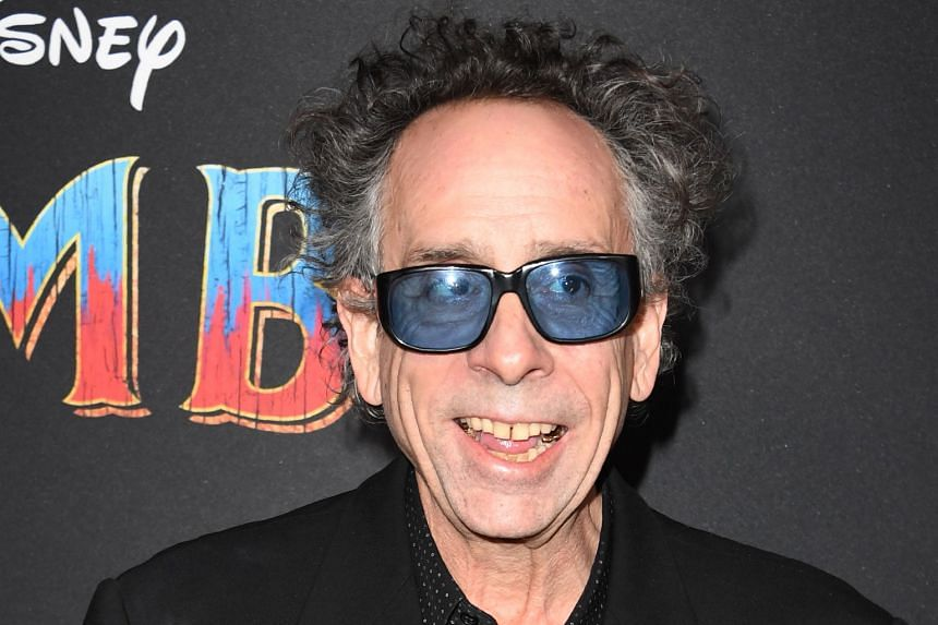 Oscar-winning film-maker Tim Burton (above) is behind Dumbo, which stars Finley Hobbins, Nico Parker and Colin Farrell.