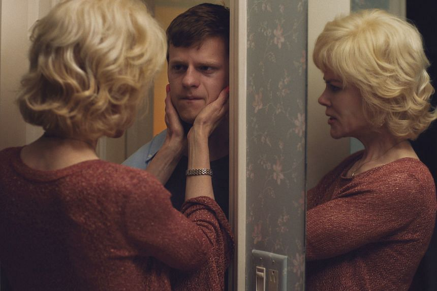 Nicole Kidman as the mother of Jared, played by Lucas Hedges (both above), who is sent to a gay conversion centre.