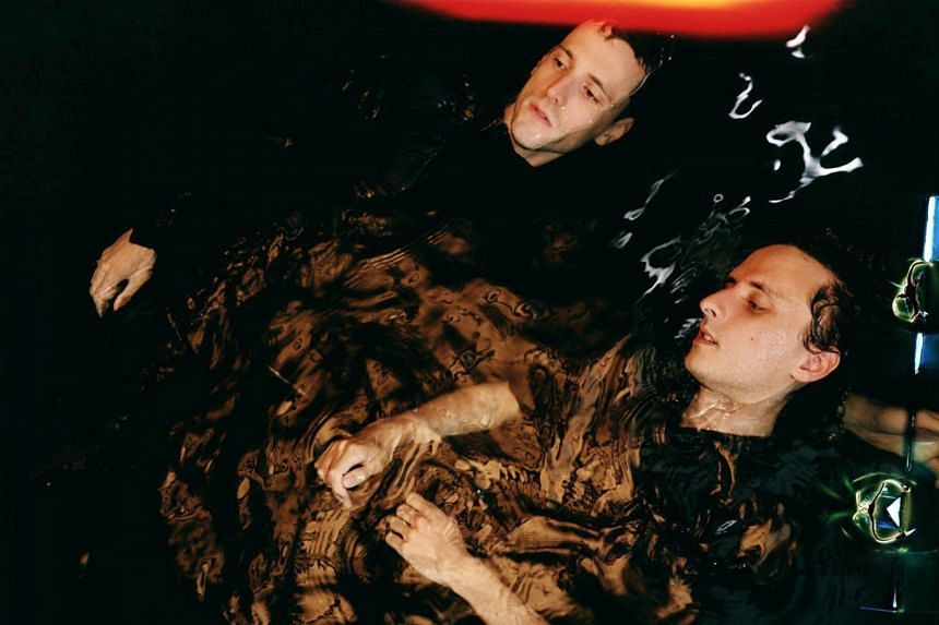 These New Puritans comprise twin brothers Jack (foreground) and George Barnett.