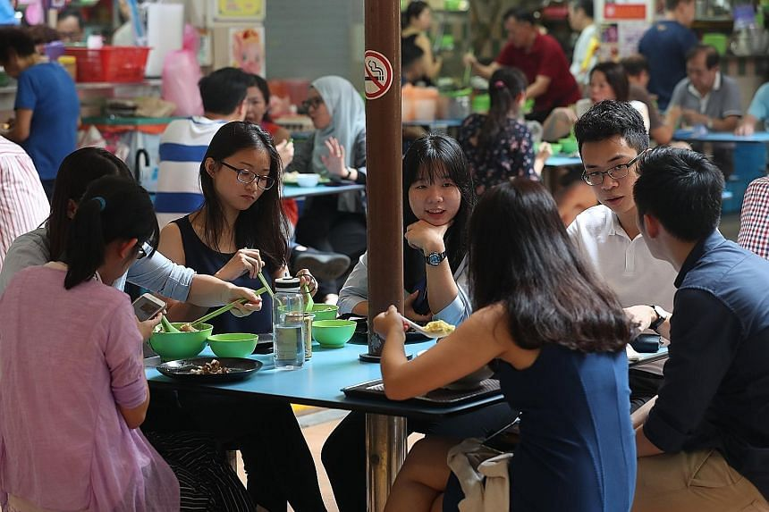 In a joint statement, the organisations driving the Unesco bid said the attempt has received overwhelming support from Singaporeans since it was announced last August. Key characteristics of Singapore's hawker culture include hawker centres serving a