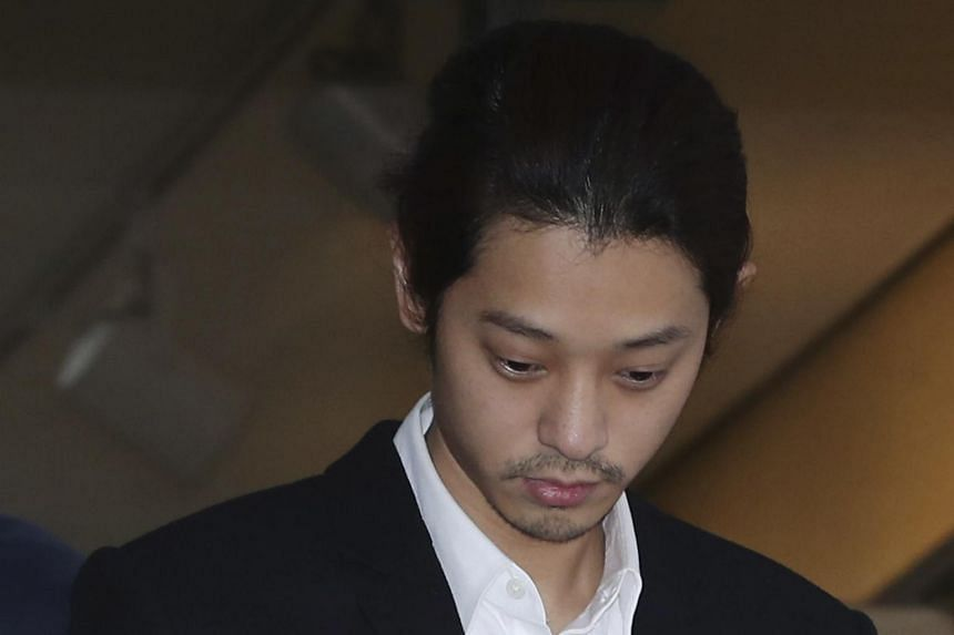 The police said Jung Joon-young shared 11 videos and are also probing whether he tried to remove incriminating evidence by getting rid of his phone, and asking others to do likewise.