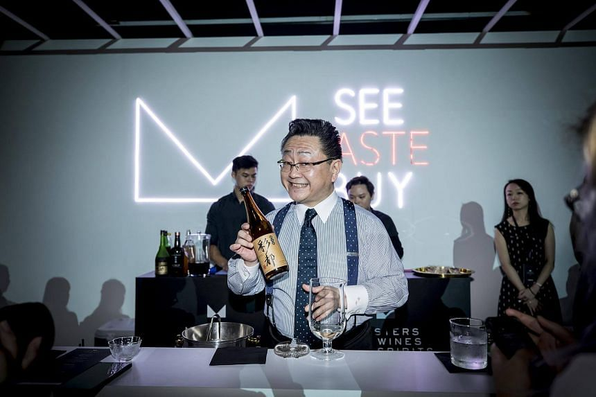 Master mixologist Hidetsugu Ueno was in Singapore for the eighth edition of the Masters of Wines and Spirits showcase.
