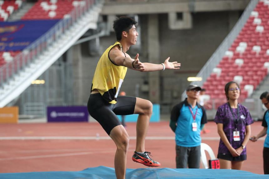 Kampton Kam, who competed despite carrying a back injury and experiencing discomfort in his right knee, said he had been nervous before the competition.